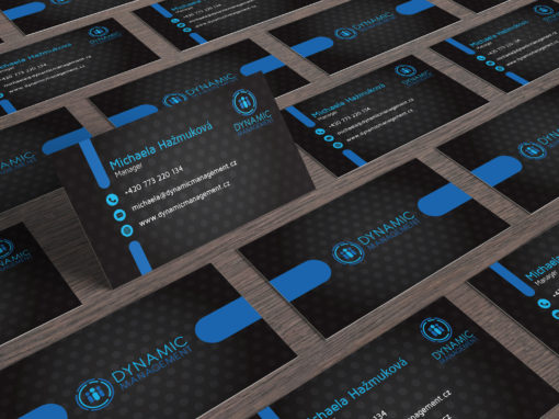 Dynamic Management Business Cards