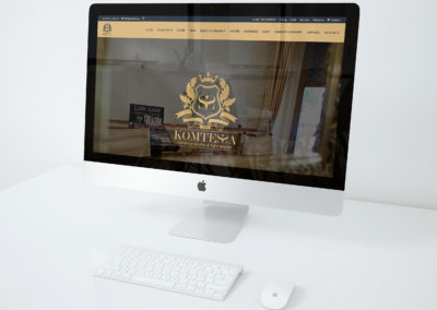 Atelier Komtessa Website